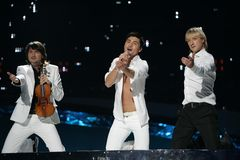 dima eurovision russia winner Στοκ Εικόνα