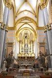 意大利-拿坡里-基耶萨di圣多梅尼科Maggiore 库存图片