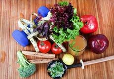 Dimagramento della dieta fotografia stock libera da diritti