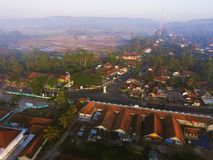 Dimanche dans Maron Loano Purworejo Indonésie photographie stock libre de droits