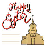 Dimanche de Pâques heureux Photos stock