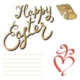 Dimanche de Pâques heureux Image stock