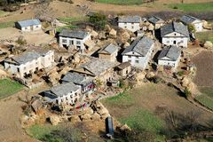 Dimarpani - small village between Kolti and Martadi Stock Photo