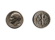 Dime Stock Photography