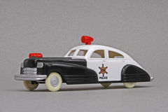 Dime Store Police Car Stock Image