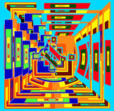 dimensão ilustração stock