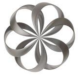 dimensión de una variable abstracta de la flor 3d Fotografía de archivo