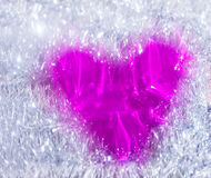Dimensión de una variable abstracta del corazón fotos de archivo