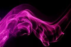 Dimensión de una variable abstracta del fondo - ondas del humo stock de ilustración