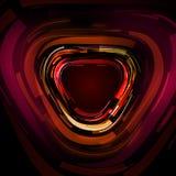 Dimensión de una variable abstracta del triángulo Fotos de archivo