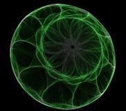 Dimensión de una variable abstracta redonda Foto de archivo