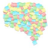 Dimensión de una variable de pensamiento Imágenes de archivo libres de regalías