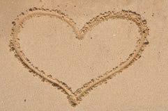 Dimensión de una variable del corazón Imágenes de archivo libres de regalías