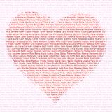 Dimensión de una variable del corazón Fotografía de archivo libre de regalías