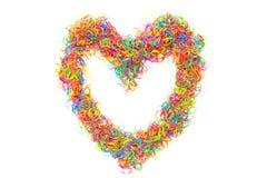 Dimensión de una variable del corazón Imagen de archivo libre de regalías