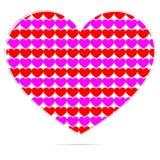 Dimensión de una variable del corazón Foto de archivo