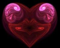 Dimensión de una variable del corazón libre illustration