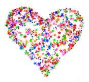 Dimensión de una variable del corazón Foto de archivo libre de regalías