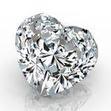 Dimensión de una variable del corazón del diamante Imagen de archivo libre de regalías