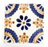 Dimensión de una variable mexicana cuadrada del azulejo Foto de archivo libre de regalías