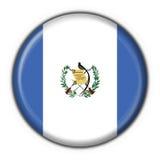 Dimensión de una variable redonda del indicador del botón de Guatemala Fotografía de archivo libre de regalías