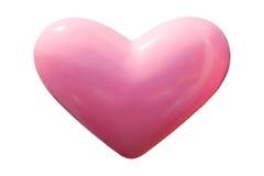 Dimensión de una variable rosada del corazón Foto de archivo libre de regalías