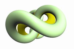 Dimensión de una variable verde suave stock de ilustración