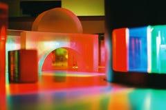 Dimensión de una variable y luz abstractas Foto de archivo libre de regalías