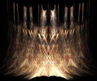 Dimensión de una variable y textura abstractas ilustración del vector