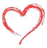 Dimensión de una variable del corazón para los símbolos del amor Foto de archivo libre de regalías