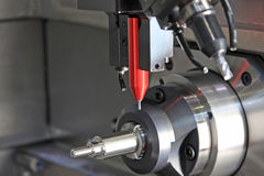 Dimensional inspection systems and surface finish in metal Stock Photo