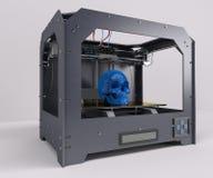 3 Dimensional  Printer. 3D Render of 3 Dimensional  Printer Stock Photo