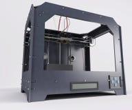 3 Dimensional  Printer. 3D Render of 3 Dimensional  Printer Royalty Free Stock Image