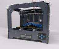 3 Dimensional  Printer. 3D Render of 3 Dimensional  Printer Stock Photos