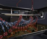 3 Dimensional  Printer. 3D Render of 3 Dimensional  Printer Royalty Free Stock Photography