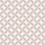 Dimensional seamless pattern. Elegant silk-like beige background Royalty Free Stock Images