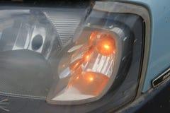 Dimensional taillights samochód i reflektory zdjęcia stock