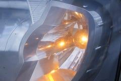 Dimensional taillights samochód i reflektory fotografia royalty free