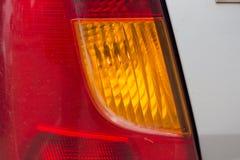 Dimensional taillights samochód i reflektory obrazy royalty free
