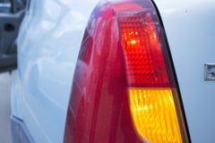 Dimensional taillights samochód i reflektory fotografia stock
