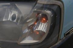 Dimensionale koplampen en achterlichten van de auto Royalty-vrije Stock Fotografie