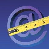 Dimensione del Internet Fotografia Stock