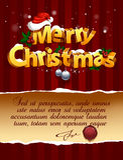 dimensionell bokstäver tre för jul Royaltyfria Foton