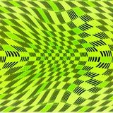 Dimensionell grön modell Arkivbild