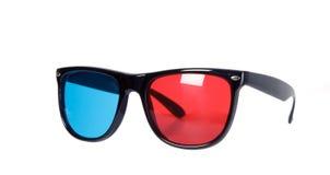 dimensionellt glasögon tre fotografering för bildbyråer