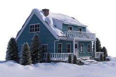 dimensionellt hus tre vektor illustrationer
