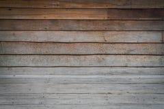 Dimensionellt rum med ett trä Paneled vägg- och trägolv royaltyfria foton