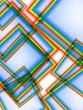 Dimensiones de una variable abstractas Imagen de archivo libre de regalías