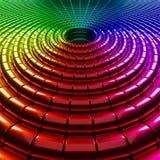 dimensiones de una variable abstractas 3d Imagen de archivo libre de regalías