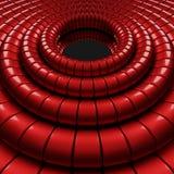 dimensiones de una variable abstractas 3d Foto de archivo libre de regalías